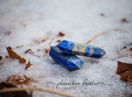 Crystal of the Week: Lapis Lazuli (The Blue Earth)