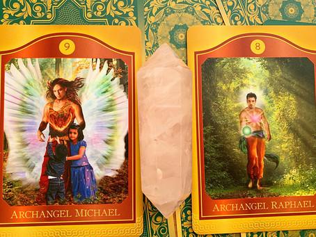 Weekly Tarot: Archangel Michael & Archangel Raphael