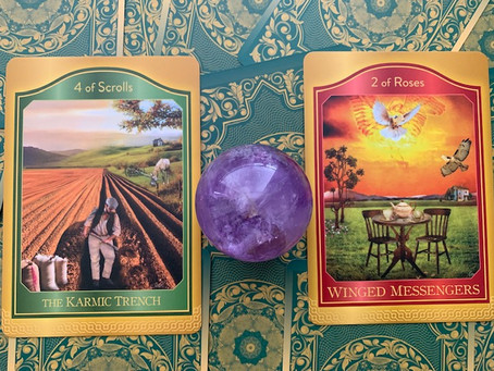Weekly Tarot: Karmic Trench & Winged Messengers