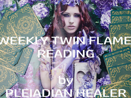 Twin Flame  Journey: Weekly Readings (Follow the Magic!)