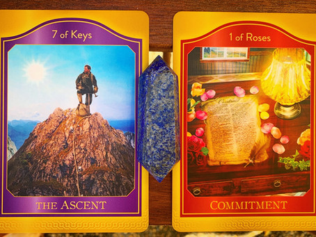 Weekly Tarot: Ascending and Commitment