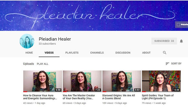 Pleiadian Healer Is Now on Youtube! | Pleiadian | United States