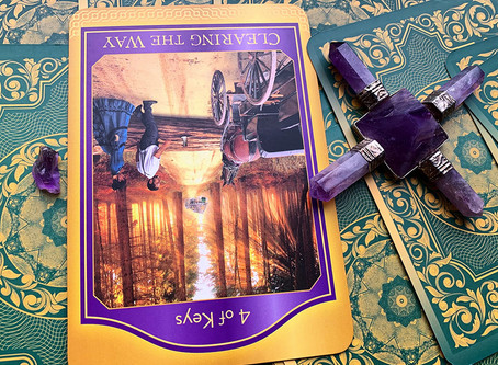Weekly Tarot: Clearing The Way (4 of Keys)