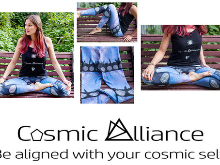 Launching Cosmic Alliance: Clothing and Products That Raise Your Vibration