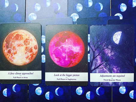 Mini Read For The Collective Using The Moonology Deck