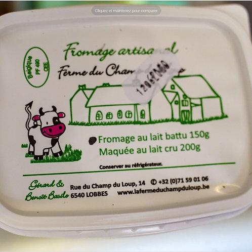 Fromage au lait battu