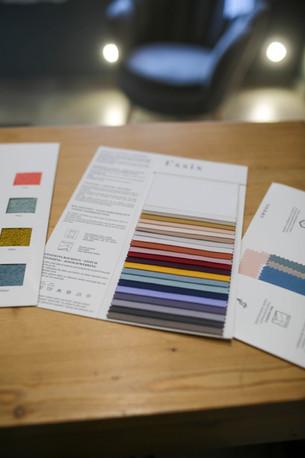 Différents coloris linge de lit Créateur de Sommeil