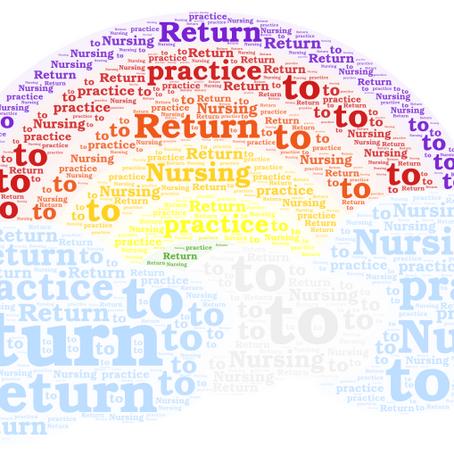 Return To Practice Blog – Chris Jones