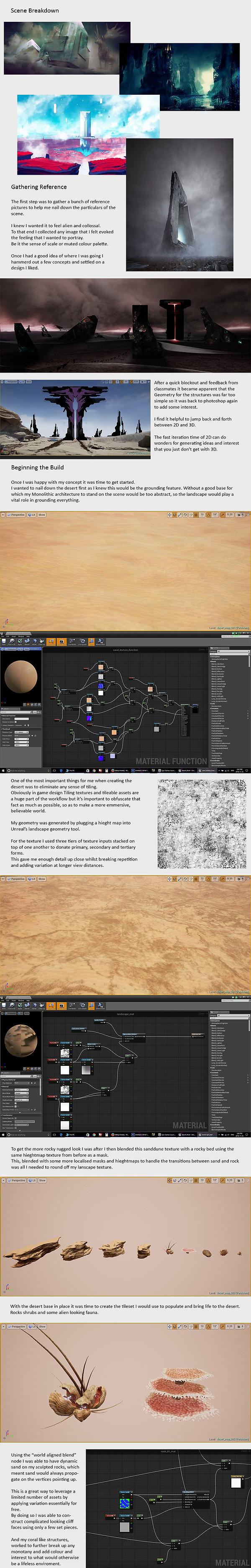 Desert scene breakdown
