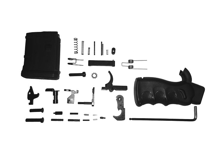Ledesma Arms Featureless Complete Lower Parts Kits