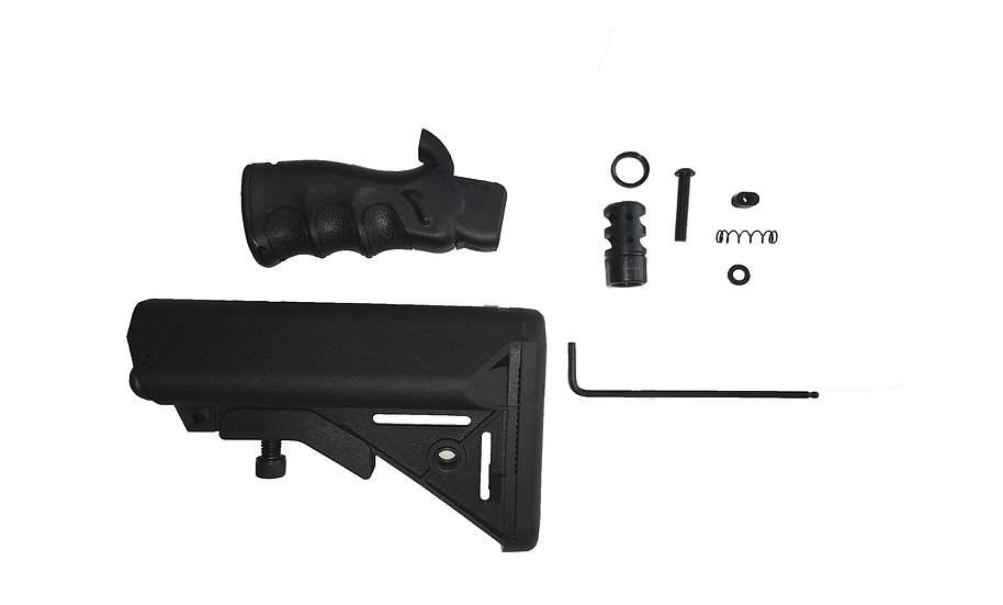 Ledesma Arms AR15/10 Featureless California Compliant Kit w/ L.A.M. Compensat