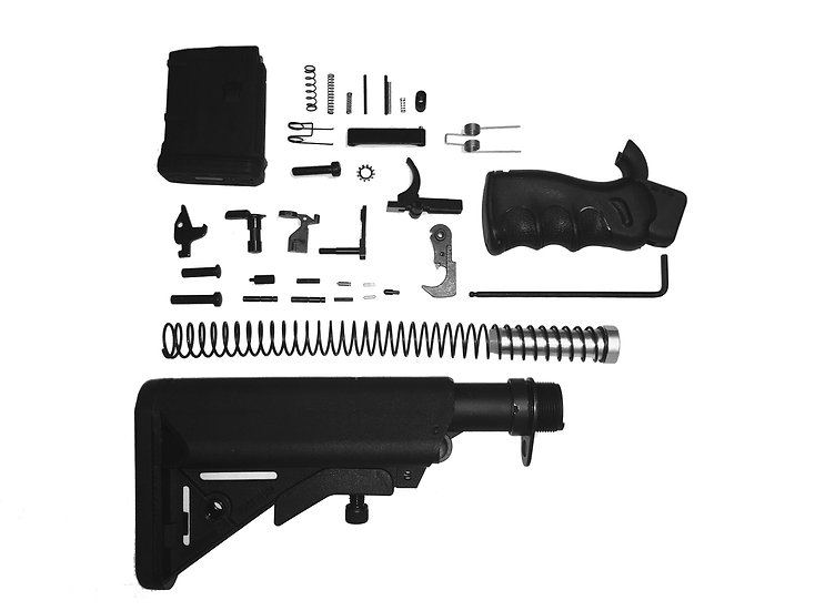 Ledesma Arms Featureless Lower Build Kit