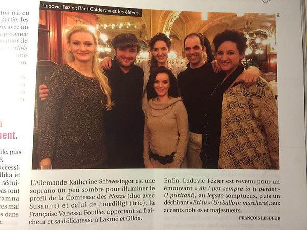 Photo article Opéra Magazine