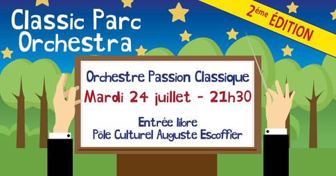 Affiche Concert Classic Parc Orchestra V