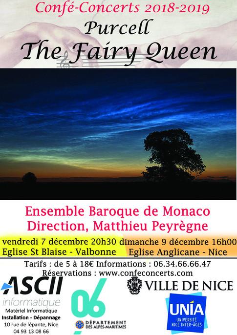 Affiche Confé-Concerts The Fairy Queen P