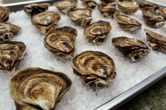 Grilled Oyster Prep