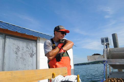 Waterman Ryan Working on the Shellplex