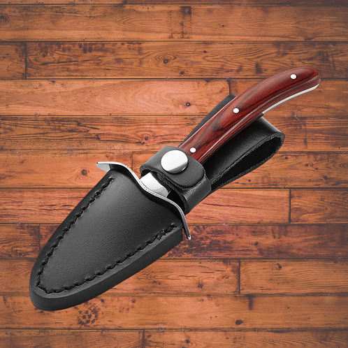 Oyster Knife with Leather Case