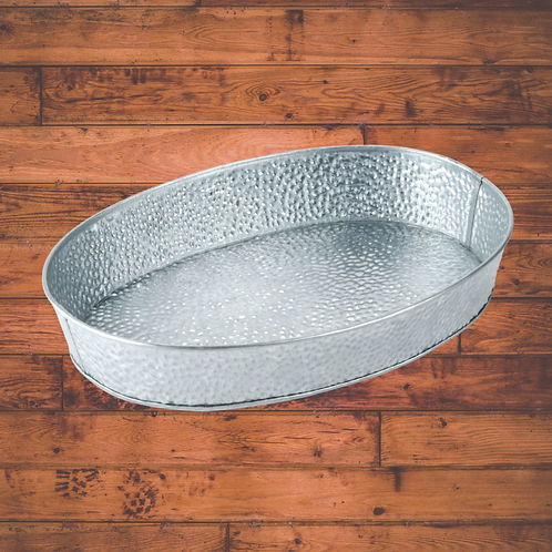 Galvanized Steel Serving Tray