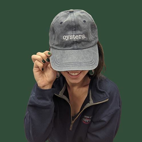 """""""oysters.""""Hat"""
