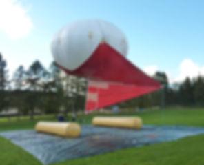 Cloud Research blimp Max Planck