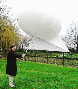 Atmospheric Data analysis through blimp technology