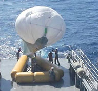 Aerostat helium balloon for radar systems