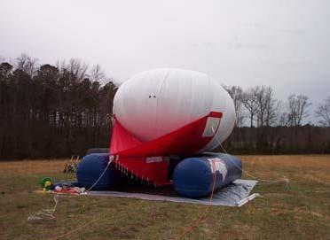Helikite Lifting Aerostat Helirest Protective Mount