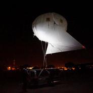Helikite night launch at REPMUS19