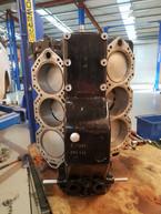 Mercury V6 2 Stroke Awaits Cylinder Heads