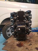 Mercury V6 2 Stroke Block Assembled