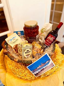 Amore Bistrot Gift Basket Grand Opening