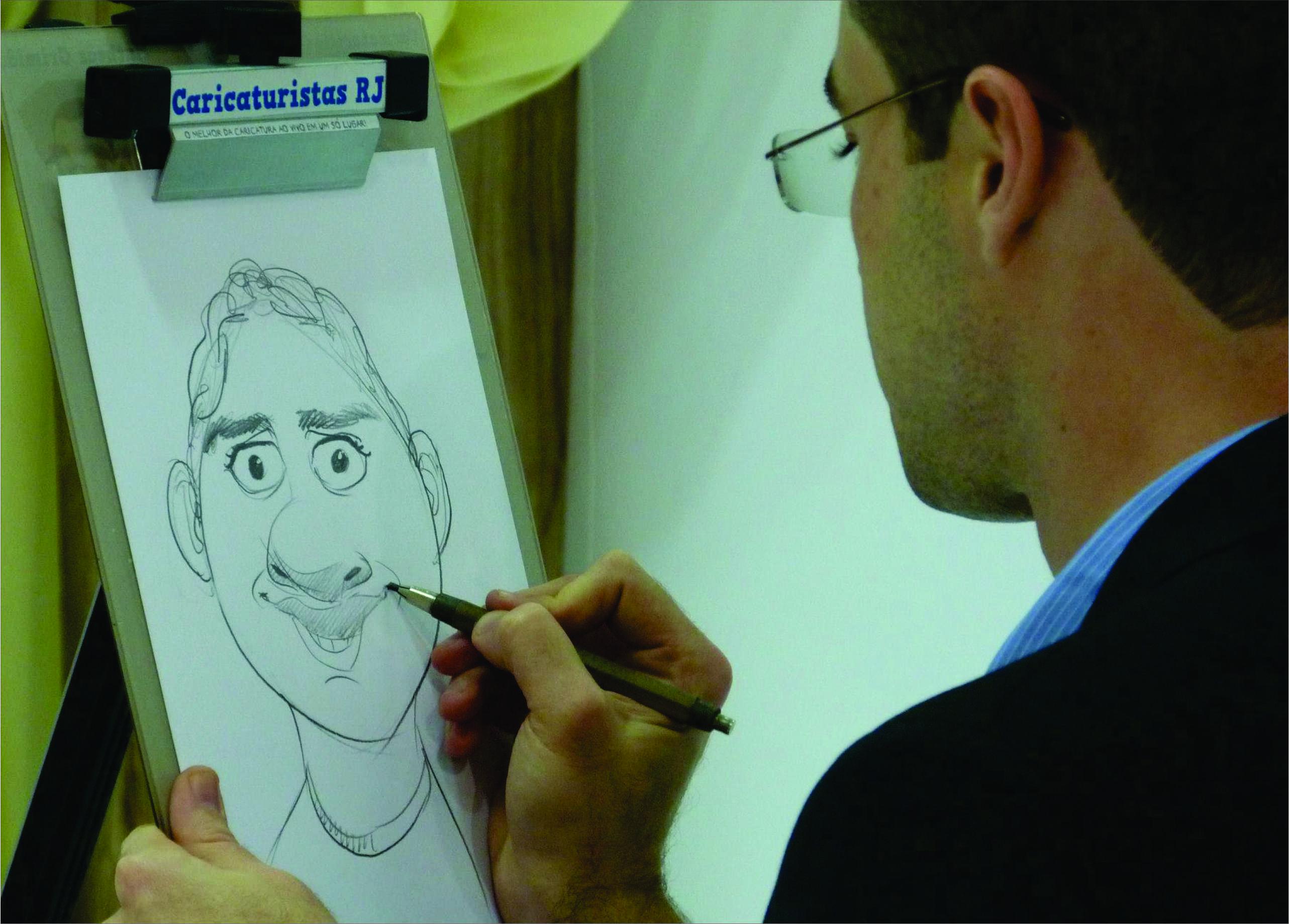 caricaturistas rj eventos