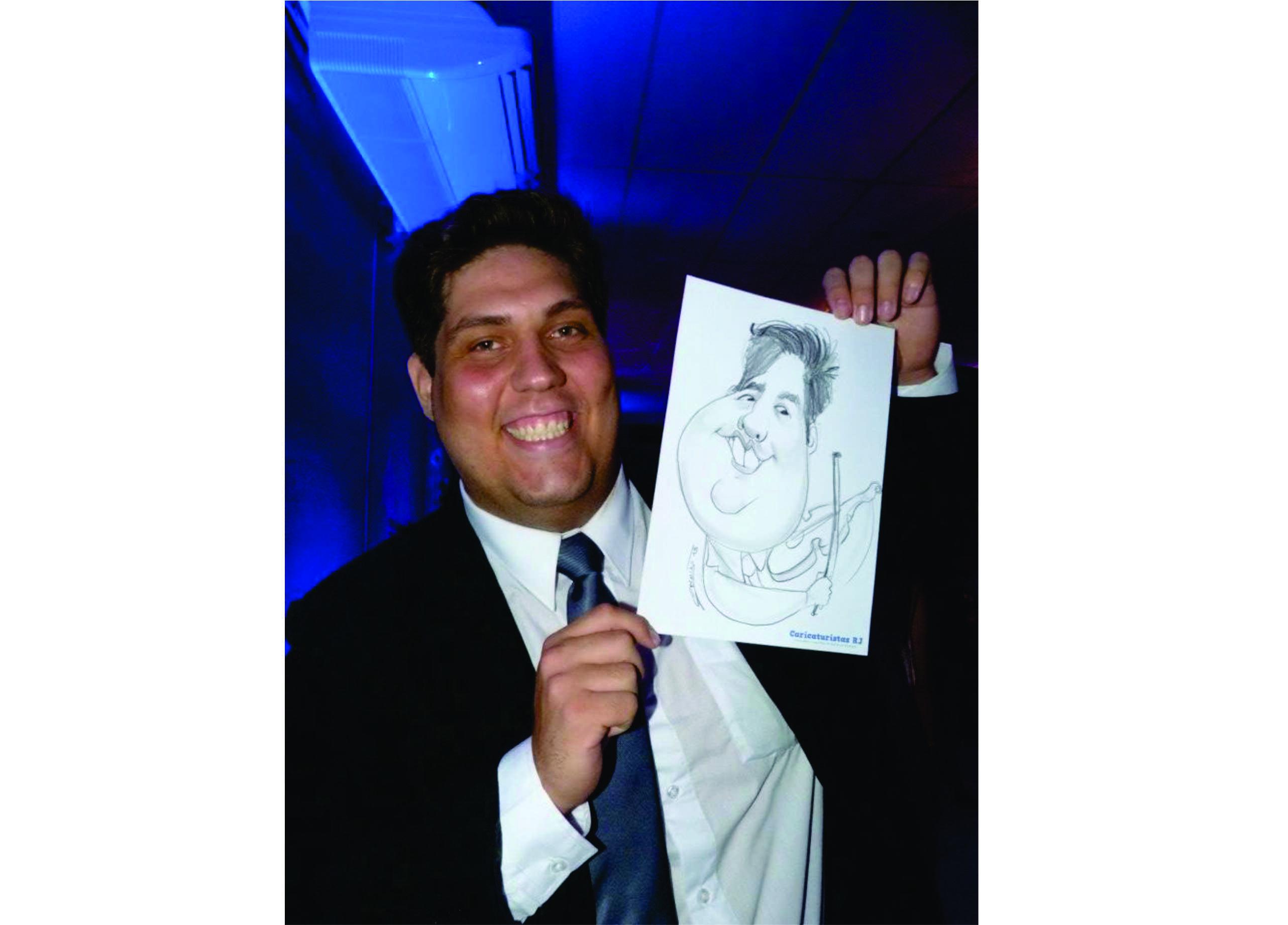 caricaturista rj