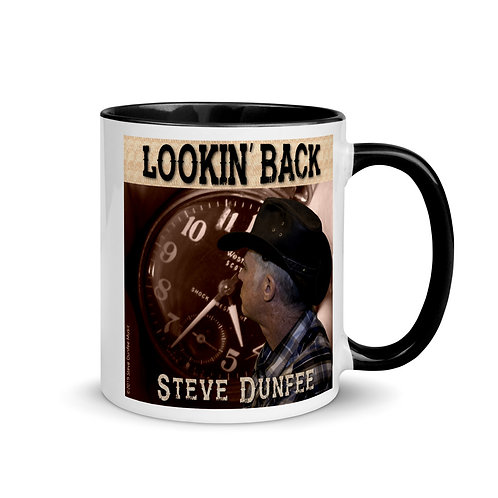 Lookin' Back Coffee Mug with Color Inside