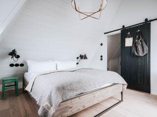 Schlafzimmer unter´m Dach