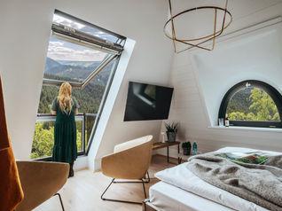 Höhenvilla Schlafzimmer