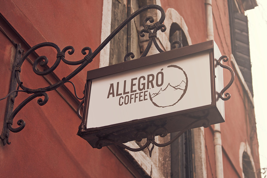 Allegro Sign Mockup
