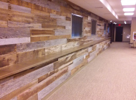 Resawn Barnwood Wall