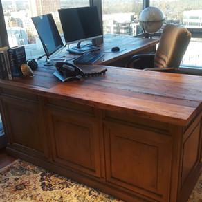 Chestnut Barnwood Desk