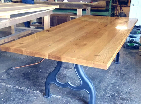 Rustic Oak Farm Tabletop