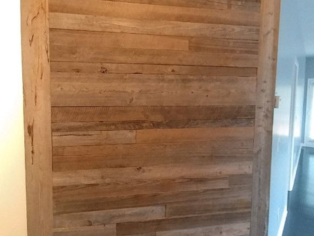 Cypress Graywood Wall