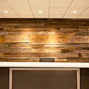 Barnwood Feature Wall