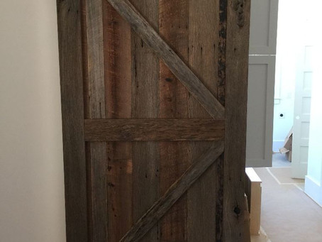 Oak Barn Doors