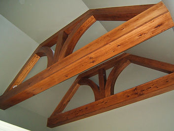 Cypress Boxed Beams
