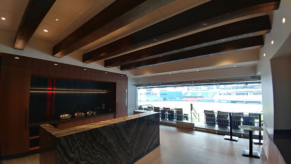 Braves owners' lounge at Suntrust
