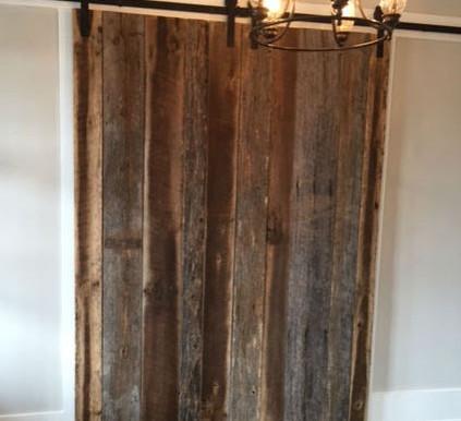 Barnwood Doors at Regency Lighting