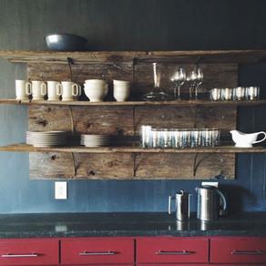 Barnwood Open Shelves