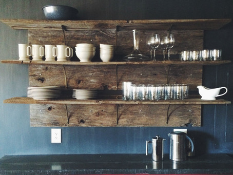 Barnwood Open Shelves
