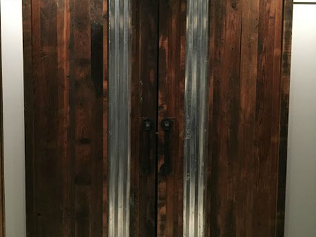 Barndoors for Entertainment Room